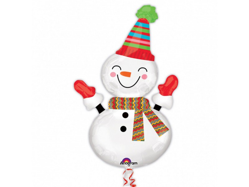 S/SHAPE SMILEYL SNOWMAN