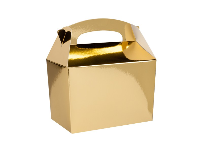 BOX PARTY FOOD PZ. 10 ORO