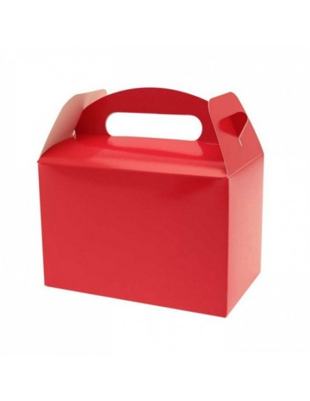 BOX PARTY FOOD PZ. 10 ROSSO