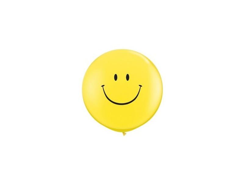 "Mongolfiera qualatex 3""100cm smile"