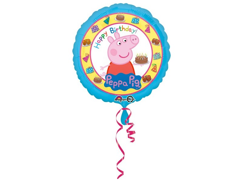 "PALLONE MYLAR 18"" PEPPA PIG H.B"