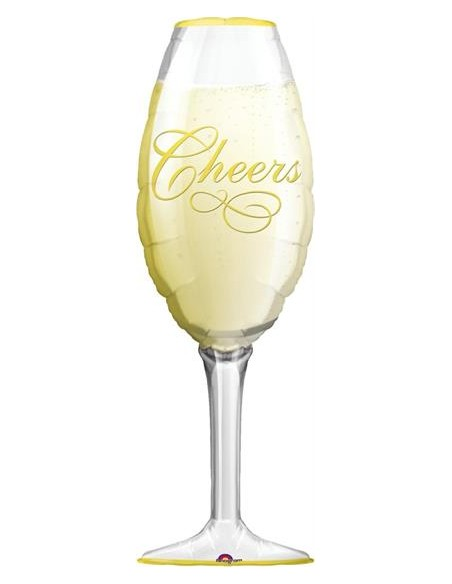 S/SHAPE CHAMPAGNE GLASS