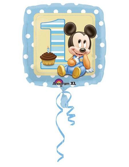 "Pallone Mylar 18""Baby Mickey 1°compl."