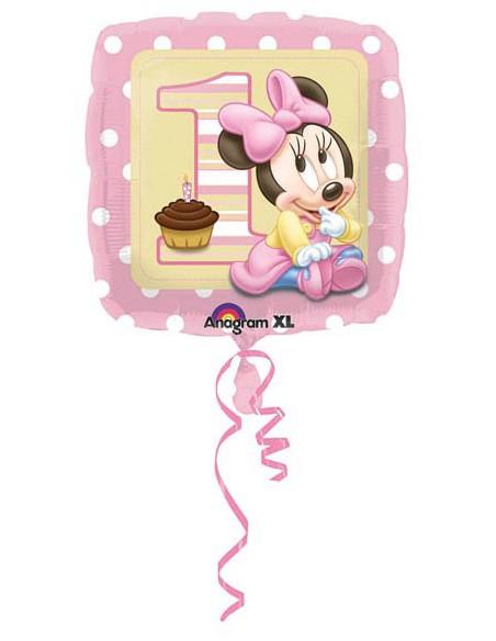 "Pallone Mylar 18"" Baby Minnie 1°compl."