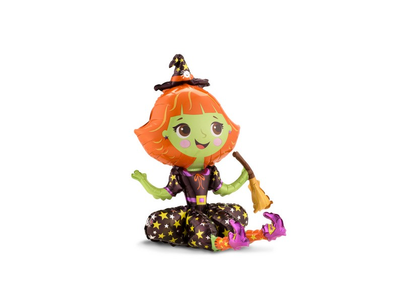 S/SHAPE SITTING WITCH