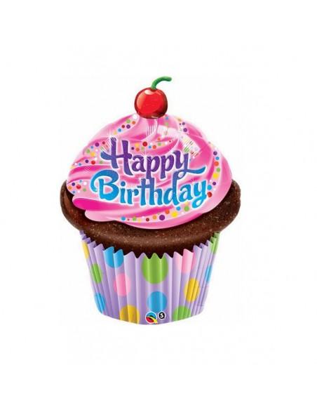 S/SHAPE CUP CAKE HAPPY BIRTHDAY CM.89