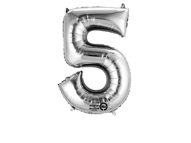 MINISHAPE:NUMBER 5 SILVER