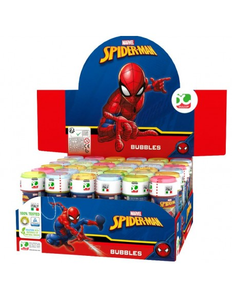 SPIDER-MAN BUBBLES 36PZ