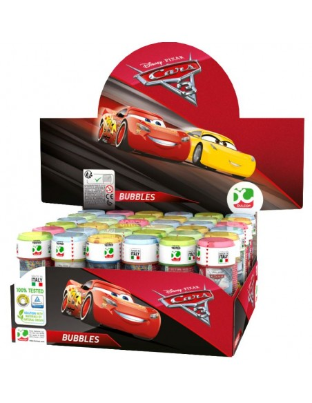 CARS 3 BUBBLES 36PZ