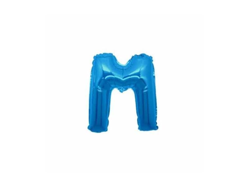 """LETTERA MINI """"M"""" BLU CM.18"""