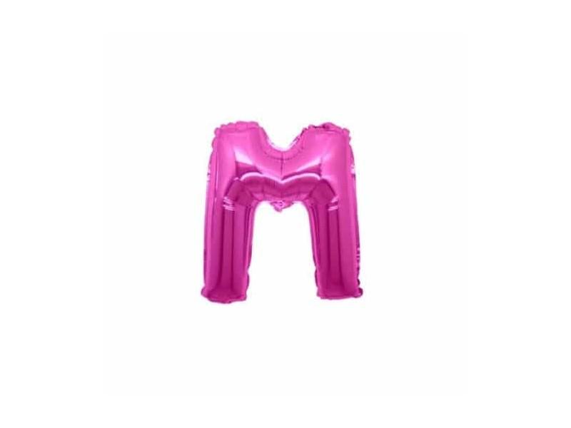 """LETTERA MINI """"M"""" FUXIA CM.18"""