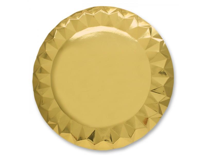5 SOTTOPIATTI DIAMANT CM.32 GOLD
