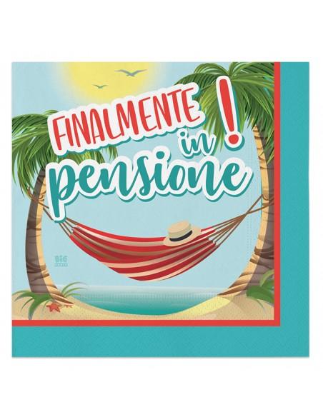 TOVAGLIOLI FINALMENTE PENSIONE CM. 33X33 PZ. 20