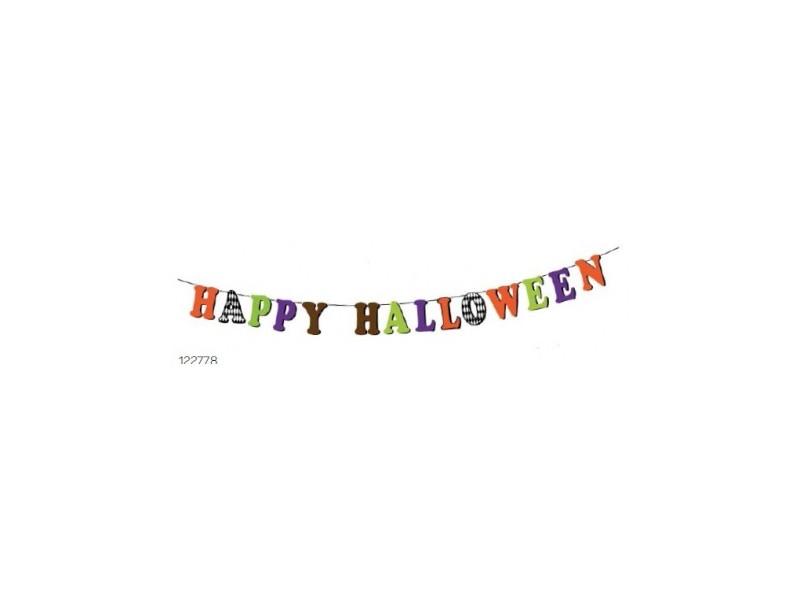 Festone-di-halloween-con-scritta-happy-halloween 17x2,20cm