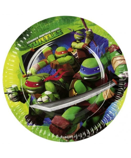 PIATTO CM.23  NINJA TURTLES...