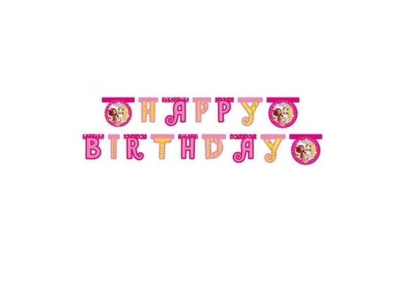 FESTONE CARTA HAPPY BDAY MIA & ME MT 1,8