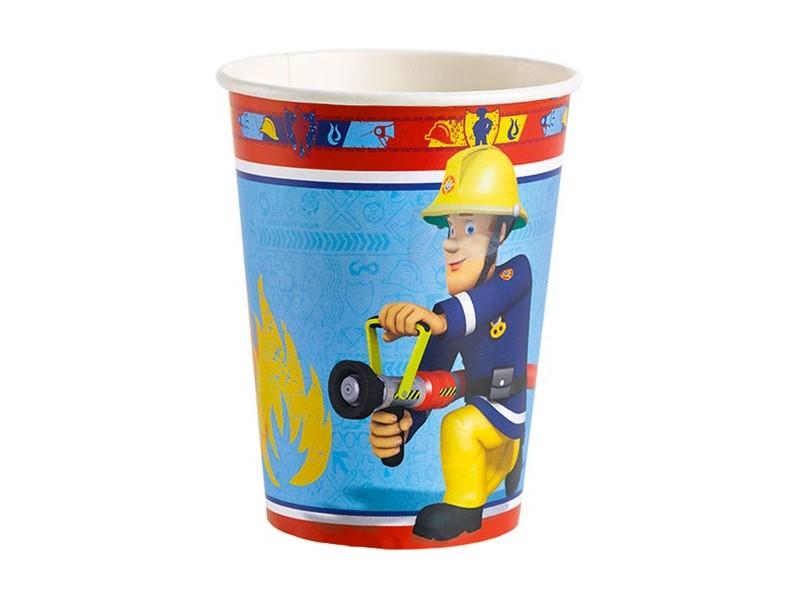 8 cups Fireman Sam