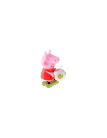 CANDELA 3D SAGOMATA PEPPA PIG CM 8
