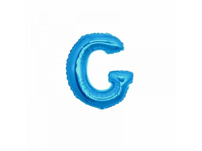 """LETTERA MINI """"G"""" BLU CM.18"""