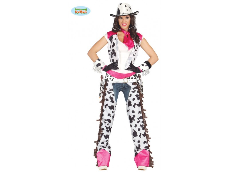 COSTUME COWGIRL RODEO TALLA L 42-44