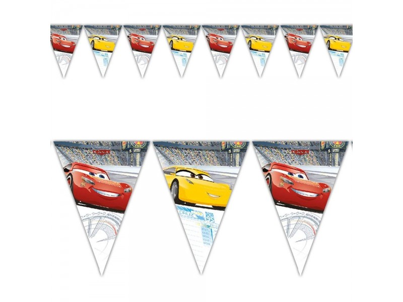 FESTONE BANDIERINE CARS 3 2,30MT