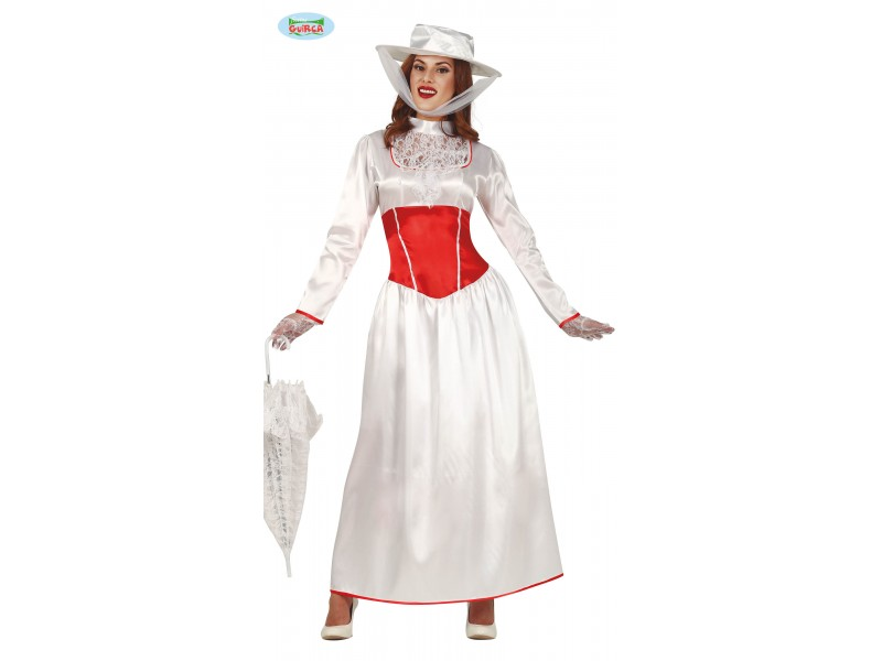 COSTUME DONNA MARY POPPINS TG L 42-44