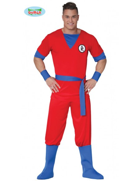 COSTUME LOTTATORE DRAGON BALL TG. M 48-50