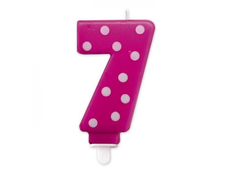 Cand. Numero 7 Pois Fuxia