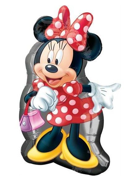 PALLONE MYLAR MINNIE FULL BODY 48X81CM