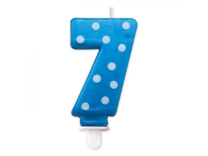 Cand. Numero 7 Pois Turchese