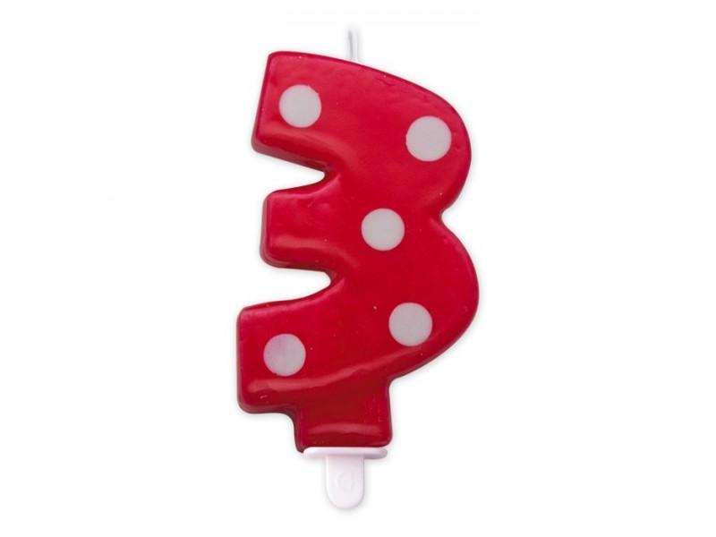 Cand. Numero 3 Pois Rosso