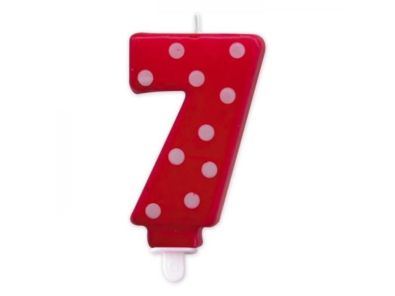 Cand. Numero 7 Pois Rosso