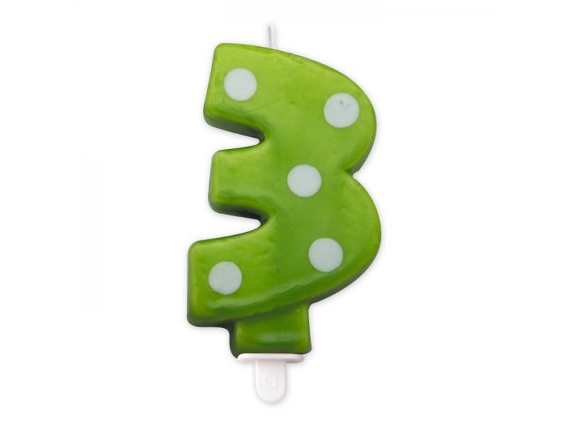 Cand. Numero 3 Pois Verde Mela