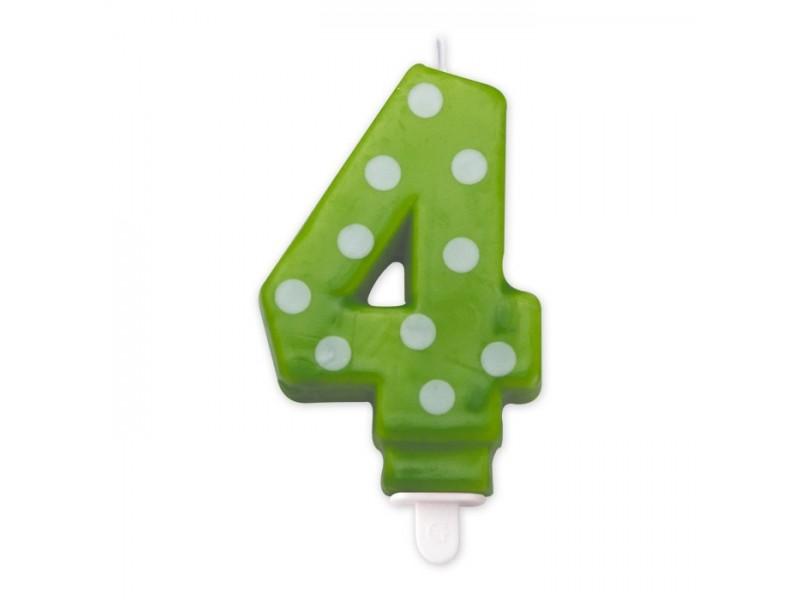 Cand. Numero 4 Pois Verde Mela