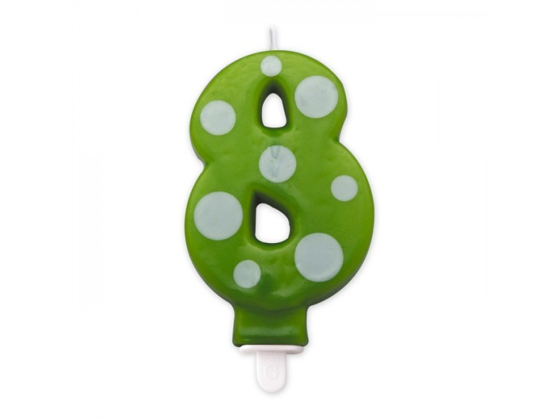 Cand. Numero 8 Pois Verde Mela