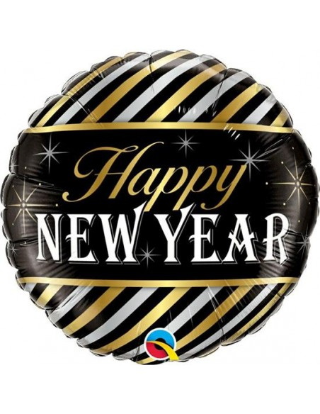 "PALLONE MYLAR 18"" HAPPY NEW YEAR CM. 45"