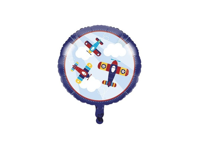 "PALLONE 18"" LIL FLYER AIRPLAINE"