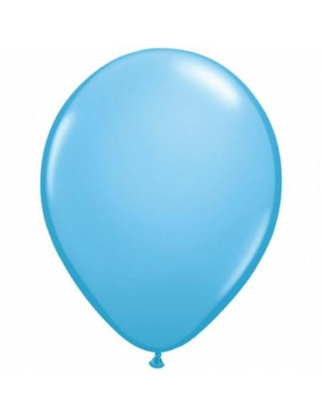 11RND PALLONE LATTICE STD PALE BLUE 100PZ
